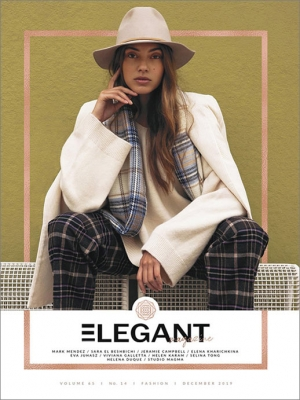 ELEGANT MAGAZINE - URBAN WINTER