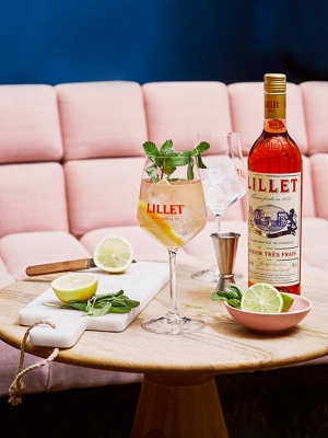 LILLET SUMMER DRINKS
