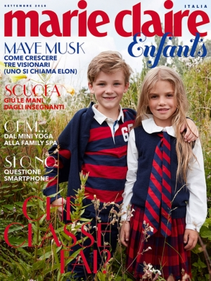 MARIE CLAIRE ENFANTS ITALY 08/18