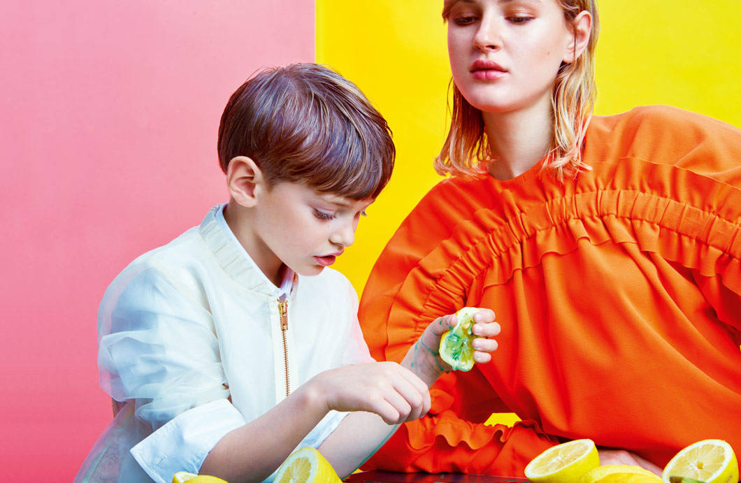 KID´S WEAR MAGAZINE / COLOR BLOCK - STYLING BY CATRIN HANSMERTEN