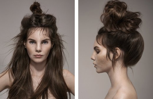 LUCYS MAGAZINE - HAIR MAKE-UP BY ELENA KÖHLER