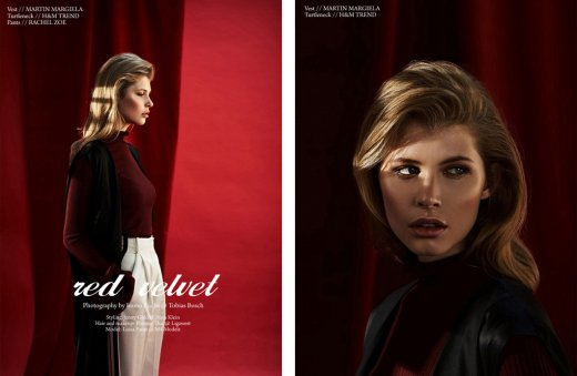 HUF MAGAZINE - HAIR MAKE-UP BY PHUONG THAI